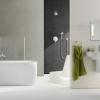 Атмосферна зелена плитка у ванній кімнаті (23 фото)