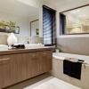 Бежева ванна кімната (20 фото): універсальний дизайн