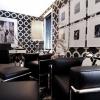 Чорно-біла вітальня (50 фото): сучасні інтер`єри з яскравими акцентами