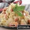 Щоб зготувати баварський салат з квашеної капусти?