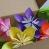 Квітковий букет орігамі