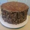 Дівчина спекла торт для батька-лісоруба