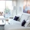 Дизайн вітальні в білому кольорі: розкішно, стильно і затишно