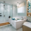 Дизайн ванної кімнати з душовою кабіною (51 фото)