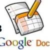Документи google docs (частина 3) (відео онлайн)