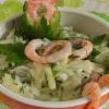Готуємо салат з капусти і креветок - (асортимент салатів)