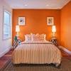 Інтер`єр помаранчевої спальні (35 фото): вдалі приклади дизайну