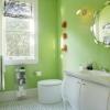 Інтер`єр салатовой ванній (21 фото): позитив на кожен день
