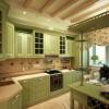 Інтер`єр зеленої кухні (19 фото): варіанти сучасного дизайну