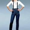Як і з чим носити джинси з високою талією?
