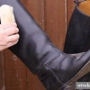 Як очистити сіль з шкіряного взуття?