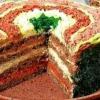 Як приготувати бутербродний торт?