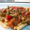 Як приготувати м`ясний соус із зеленою квасолею?