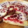 Як приготувати заливний пиріг з малиною?