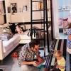 Як розставити меблі в маленькій кімнаті, яка виконує багато функцій