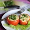 Як зробити помідори, фаршировані курячим філе і овочами