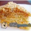 Як зробити торт «наполеон» з листкового тісто?