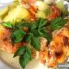 Як запекти курку з овочами?