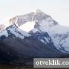 Яка найвища гора в світі?