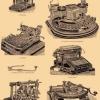 Коли з`явилася перша друкарська машина?