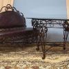 Ковані столи та стільці в інтер`єрі і на ділянці (20 фото)