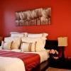 Червона спальня (17 фото): гарний дизайн і поєднання кольорів