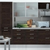 Кухня венге в інтер`єрі (18 фото): красиві поєднання кольорів і дизайн