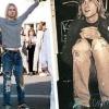 Мода і стиль на рвані джинси