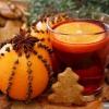 Новорічне прикраса з апельсина