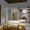Оригінальне оформлення дизайну інтер`єру однокімнатної квартири-студії + 40 фото