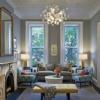 Освітлення у вітальні (17 фото): сучасні люстри і точкові світильники