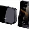 Panasonic kx-prx120 - стаціонарний телефон (dect) з сенсорним дисплеєм і ос android 4.0