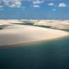 Піски національний парк ленсойс-мараньєнсіс. Затоплена пустеля