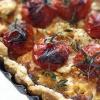 Пиріг з сиром фета і помідорами чері