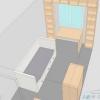 Розстановка меблів в дитячій кімнаті невеликого розміру