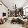 Різні дизайнерські рішення для однокімнатної квартири