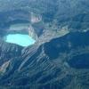 Різнобарвні озера вулкана келімуму, индонезия