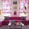 Рожева вітальня (40 фото): красиві приклади інтер`єрів і колірних поєднань