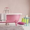 Рожева ванна (40 фото): вдалі приклади дизайну