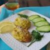 Рибні котлети з сиром і цвітною капустою