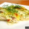 Рибу в сирно - вершковому соусі?