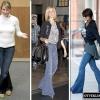 З чим носити джинси - кльош?