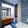 Синя ванна кімната (20 фото): морське спокій