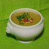 Суп-пюре зі шпинатом