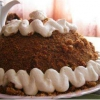 Торт із вівсяного печива без випічки - (десерти рецепти)