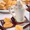 Сирне печиво з ванільним цукром