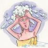 У боротьбі з лупою і пересушеними волоссям