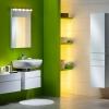 Зелена ванна кімната (18 фото): радість і гармонія кожен день
