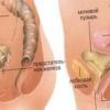 Печіння в сечостатевому каналі і тягнуть болі внизу живота у чоловіка.